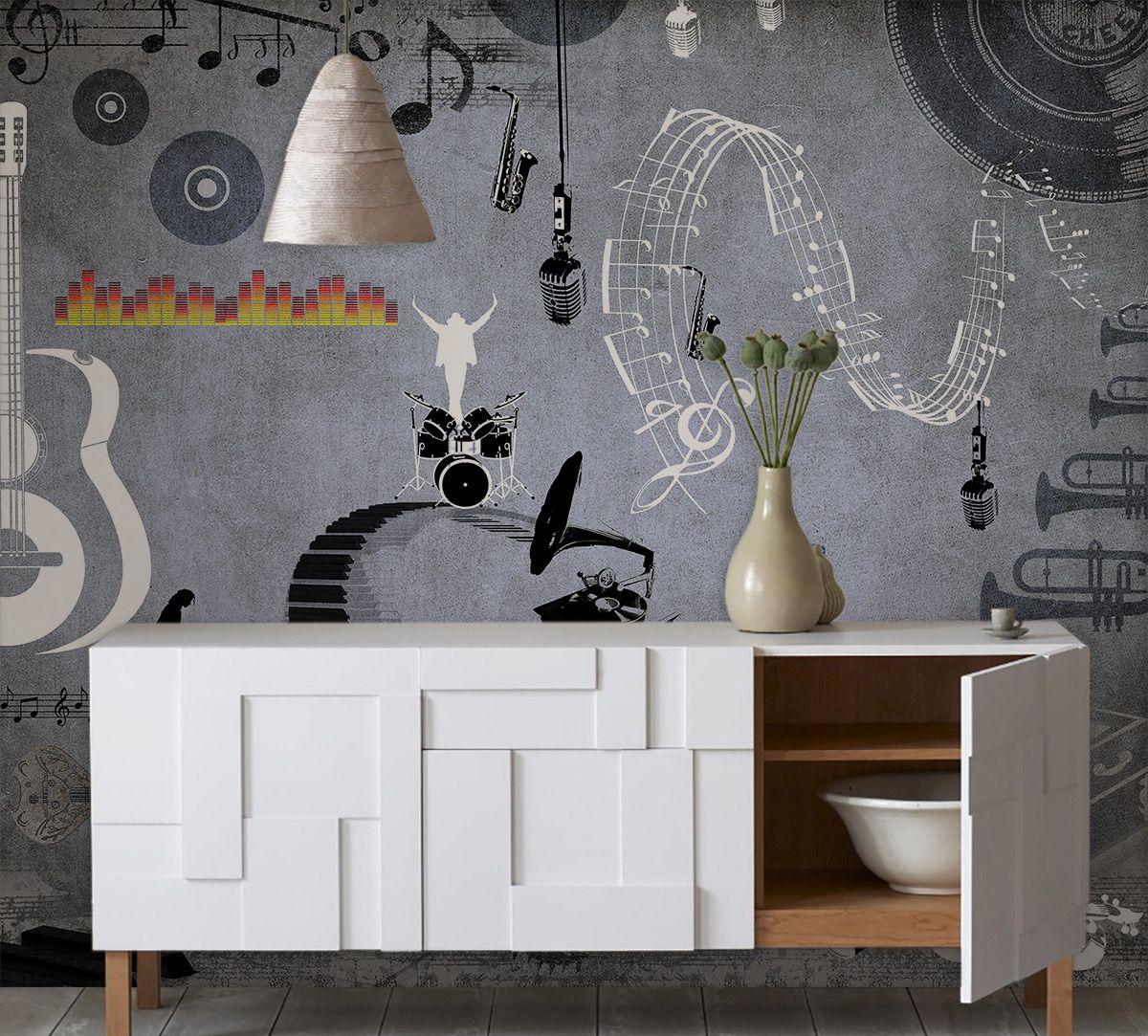 Vintage Groove Wallpaper