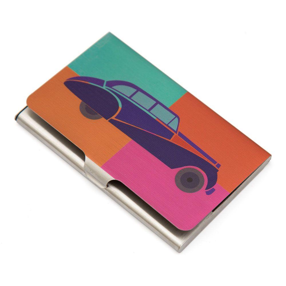 Vintage on Wheels Visiting Card Holder