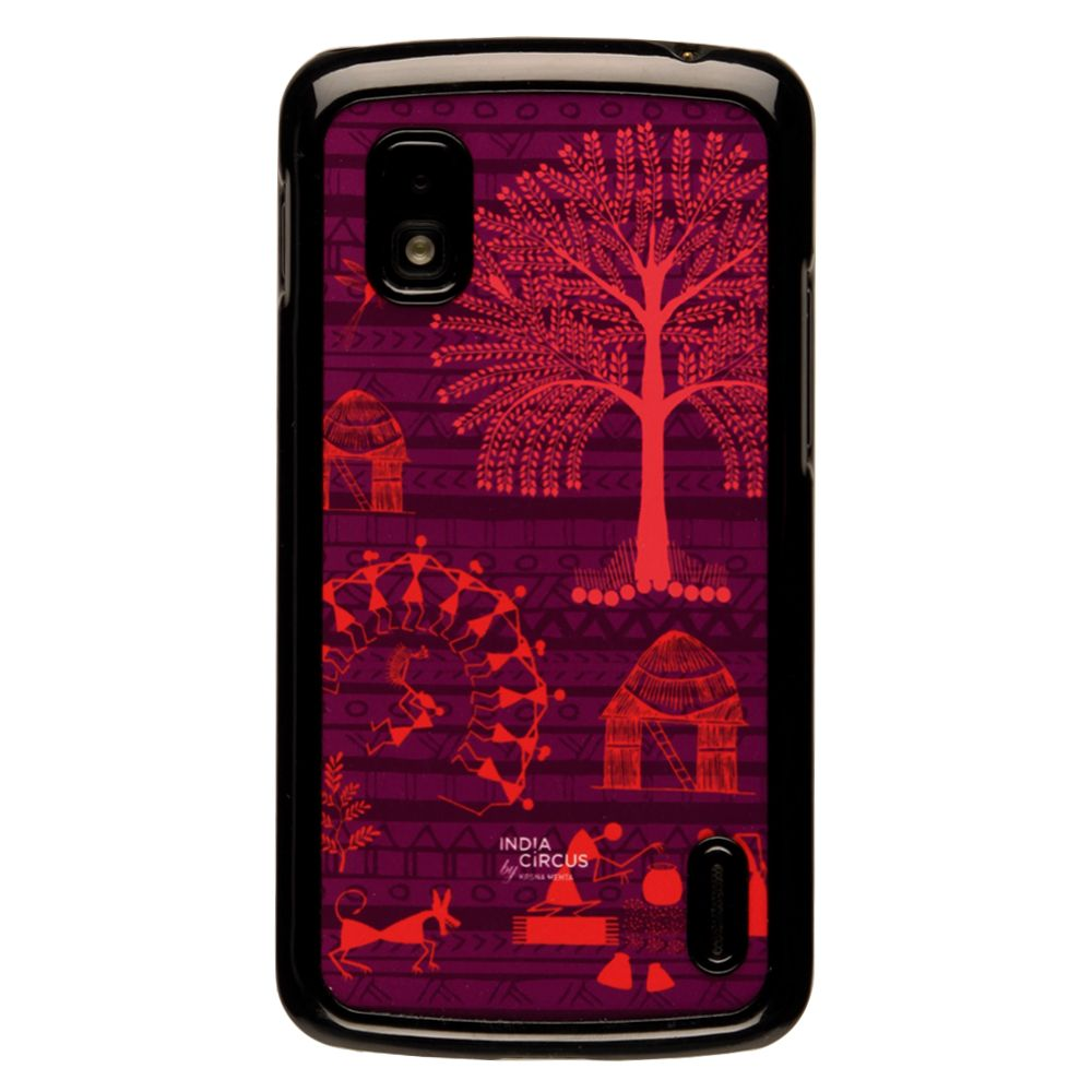 Warli Village Google Nexus 4 Cover
