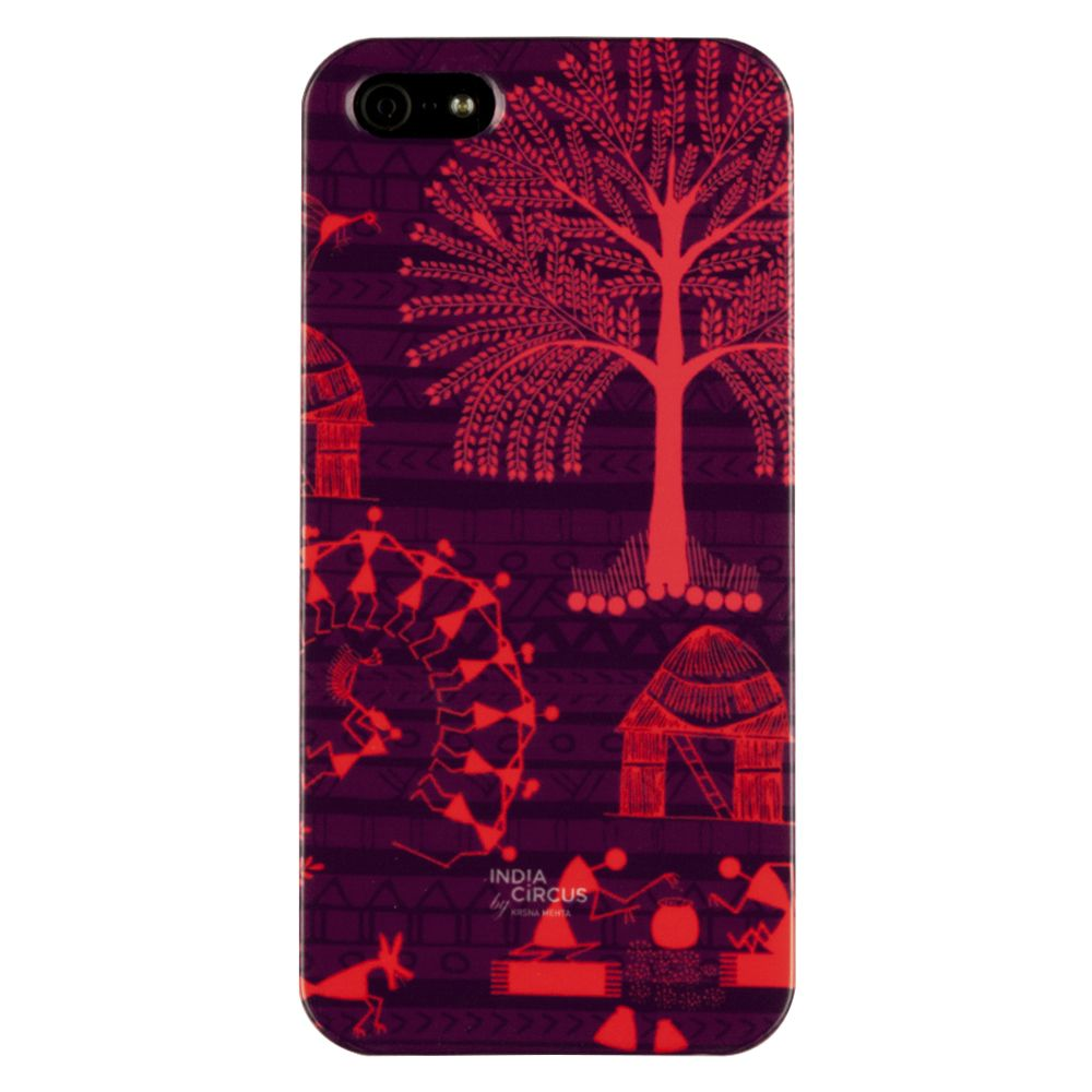 Warli Village iPhone 5/5s Cover