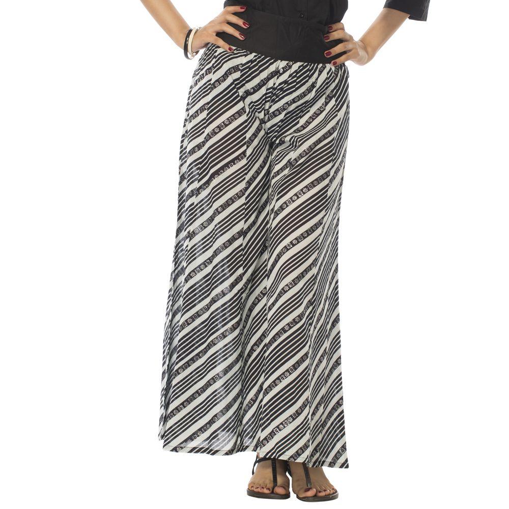 Zebra Ribbon Pants