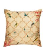 The World from my Window Poly Taf Silk Cushion Cover