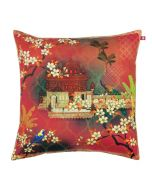 Orange Blossom Poly Taf Silk Cushion Cover