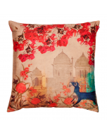Palaces in Paradise Poly Taf-Silk Cushion Cover