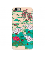 Elephant Bath iPhone 6 Cover