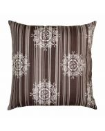 Crystal Silver Floor Cushion Cover