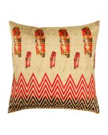 Flight of Imagination Poly Taf-Silk Cushion Cover