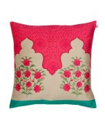 Rose Palace Poly Velvet Cushion Cover