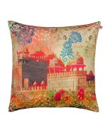 Monumental Memories Poly Velvet Cushion Cover