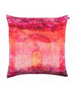 Archway of Beauty Poly Taf Silk Cushion Cover