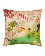 Wanderlust Poly Velvet Cushion Cover