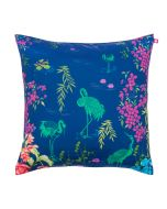 Midnight Lagoon Poly Taf Silk Cushion Cover