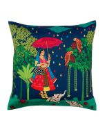 Queen Walk Poly Taf-Silk Cushion Cover