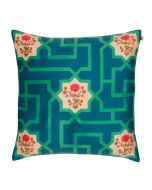 The Mysterious Flower Poly Velvet Cushion Cover