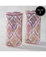 The Morning Glory Glass Tumbler (Set of 2)