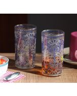 Flight of Birds Glass Tumbler (Set of 2)