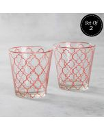 The Ogee Chronicle Conical Glass Tumbler (Set of 2)