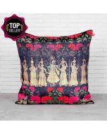 Cosmic Courtesan Blended Taf Slik Cushion Cover