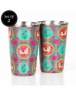 Montage of Euphoria Steel Tumbler (Set of 2)