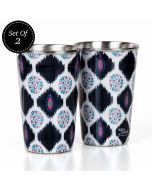 Floret Jamboree Steel Tumbler (Set of 2)