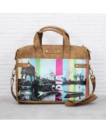 Strokes of India Briefcase Bag