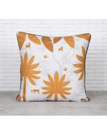 Brooding Woodlot Satin Blend Cushion Cover