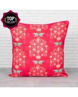 Siamese Boscage Satin Blend Cushion Cover