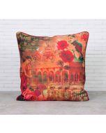 Forlorn Fates Satin Blend Cushion Cover