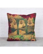 Ambushed Cages of Fervor Canvas Blend Cushion Cover