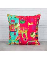 Bengal Bedlam Canvas Blend Cushion Cover