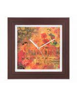 Forlorn Fates Wall Clock