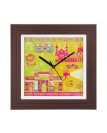 Bombay Dramatics Wall Clock