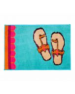 Funky Slippers Bathmat