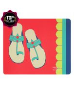 Funky Slippers Mouse Pad