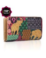 Mammal Kaleidoscope Zipper Wallet