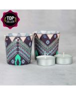 Aztec Mirage Tea Light Holder (Set of 2)