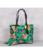 Floral Flutter Reversible Bag
