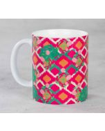 Lattice Vermillion Mug