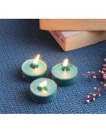 India Circus Japanese Cherry Blossom Tea Light candles (Set of 24)
