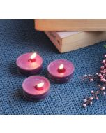 India Circus Lavender Tea Light candles (Set of 24)