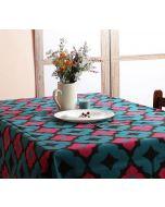 India Circus Ultramarine Tracery Table Cloth