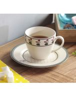 India Circus Floral Twinkles Cup and Saucer