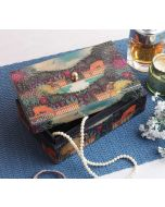 India Circus Floors of Flourish Enameled Storage Box
