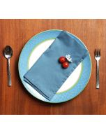 India Circus Presidential Blue Table Napkin Set of 6