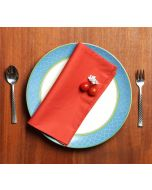 India Circus Rust Table Napkin Set of 6