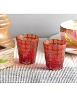 India Circus Pride of Shahjahanabad Shot Glasses Set of 2