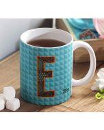 India Circus Exotic Alphabet E Mug