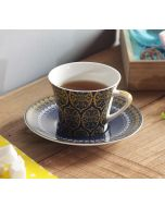 India Circus Floral Hypnosis Cup and Saucer