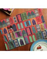 India Circus Mughal Doors Reiteration Table Mats Set of 6