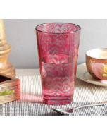 India Circus Flutter Tree Glass Tumbler